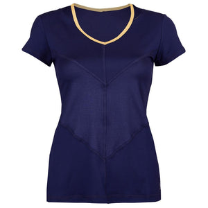 Sofibella Women's Allure Short Sleeve Top - Navy