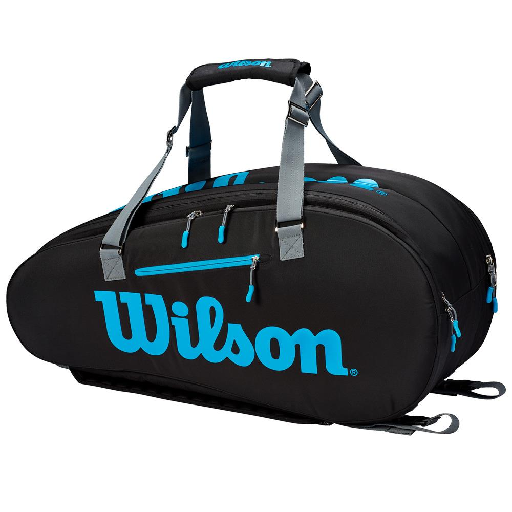 Wilson Ultra 9 Pack - Black/Blue