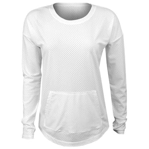 Lole Women's Venture Longsleese Top - White