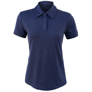 Lole Women's Cross Court Polo - Blue Anchor