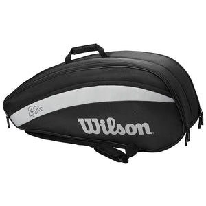 Wilson Federer Team 6pack - Black