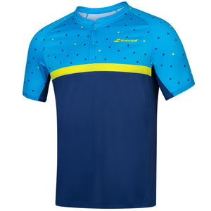 Babolat Men's Compete Polo - Blue/Navy