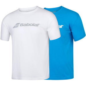 Babolat Men's Play Exercise Logo Tee