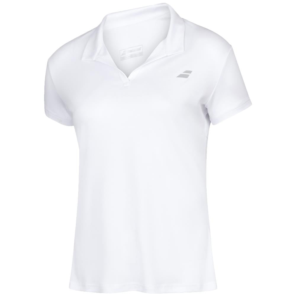 Babolat Women's Play Polo - White