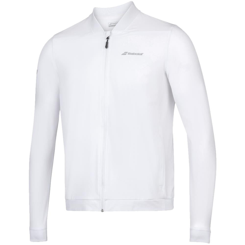 Babolat Junior Play Jacket - White
