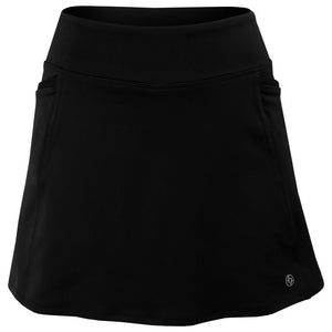 "Lija Women's Winning Streak Sia 14"" Skirt - Black"