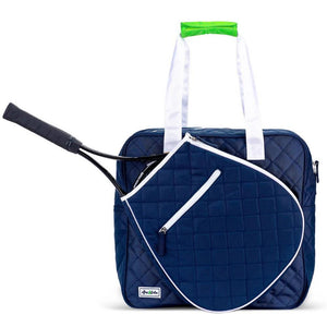 Ame & Lulu Sweet Shot Tennis Tote - Navy