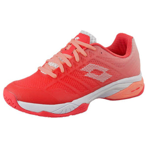 Lotto Women's Mirage 300 II Speed - Red Flouro