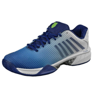 K-Swiss Men's Hypercourt Express 2 - White/Blue/Green