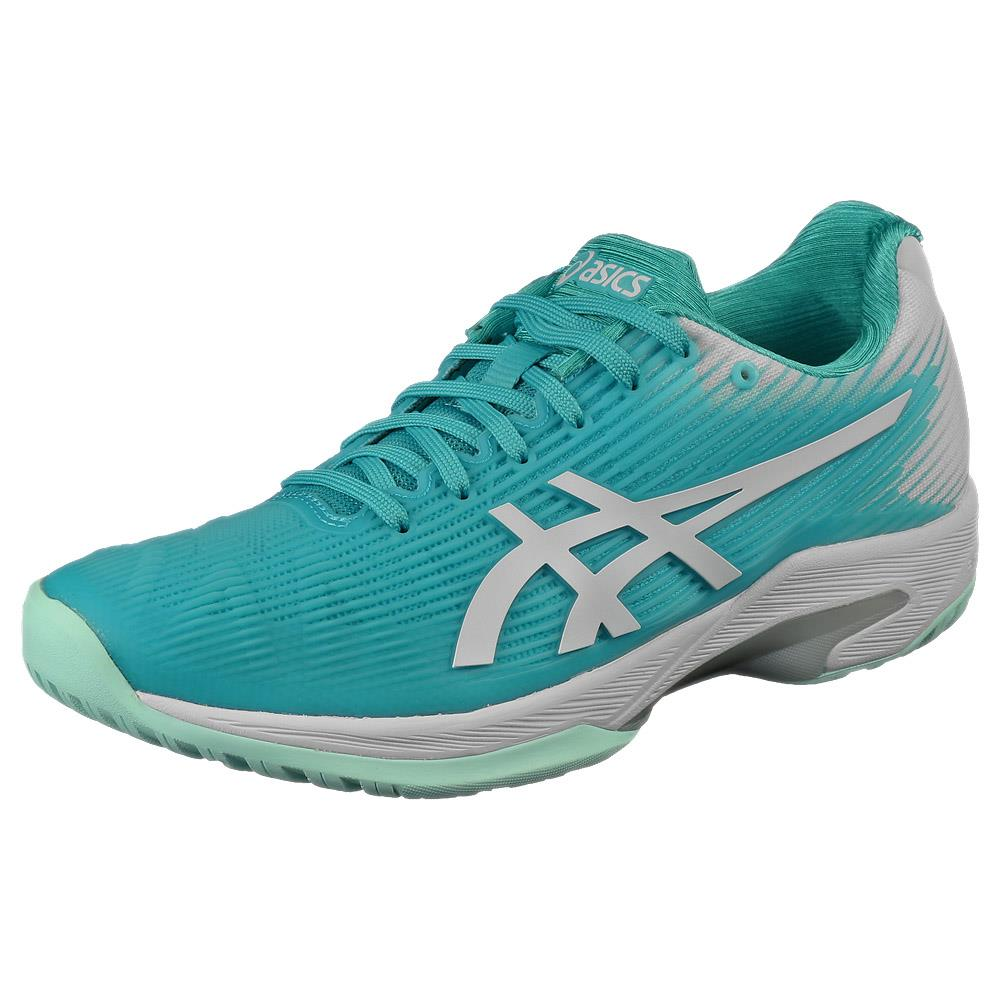 Asics Women's Solution Speed FF - Techno Cyan/White