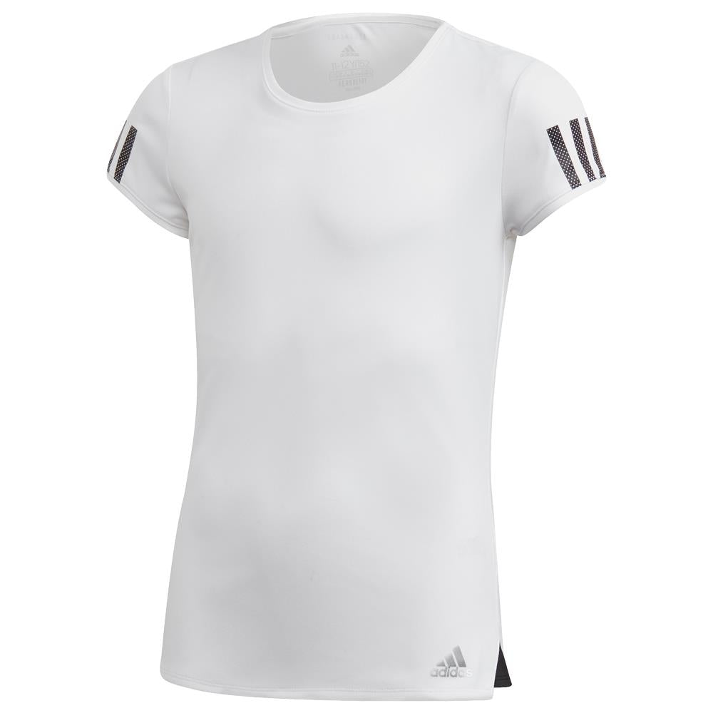 adidas Girls Club Tee - White