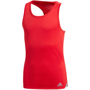 adidas Girls Club Tank - Scarlet