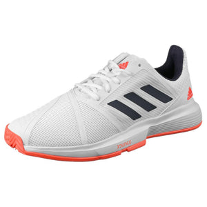 adidas Men's CourtJam Bounce - White/Red