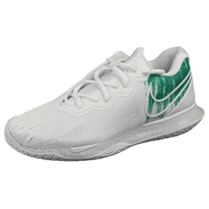 Nike Men's Air Zoom Cage 4 - White/Clover Green