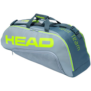 Head Tour Team Extreme Combi 6 Pack - Grey/Neon Yellow