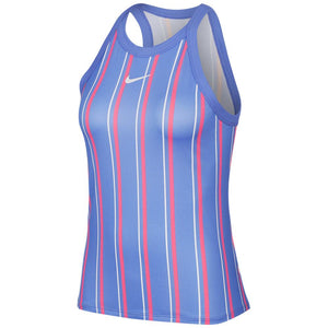 Nike Women's Nikecourt Printed Tank - Royal Pulse