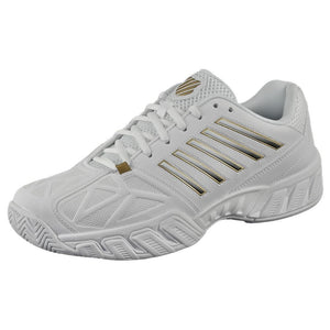K-Swiss Men's BigShot Light 3 - White/Black/Gold