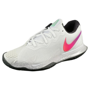 Nike Men's Air Zoom Cage 4 - Summit White/Electro