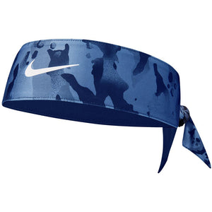 Nike Dri Fit Head Tie 3.0 Printed Reversible - Stone Blue/Obsidian