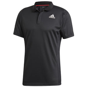 adidas Men's HEAT.RDY Freelift Tennis Polo - Black