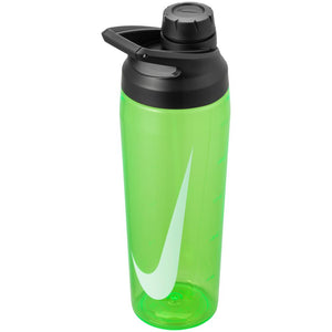 Nike Water Bottle TR Hypercharge Chug 24 oz - Green Spark