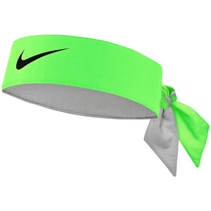 Nike Premier Tennis Head Tie - Green Strike/Black