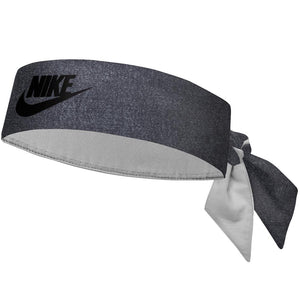 Nike Premier US Open Tennis Head Tie - Denim Texture/Black