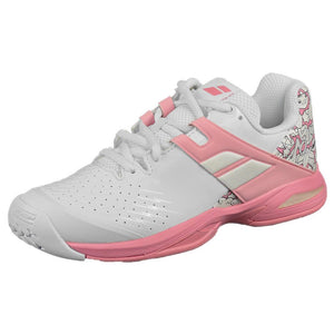 Babolat Junior Propulse - White/Geranium Pink