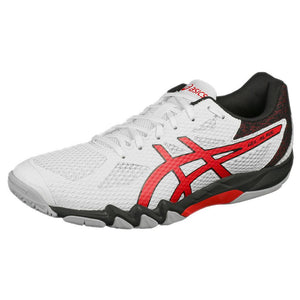 Asics Men's Gel-Blade 7 - White/Classic Red