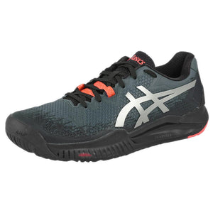 Asics Men's Gel-Resolution 8 - L.E. Future Tokyo - Black/Sunrise Red