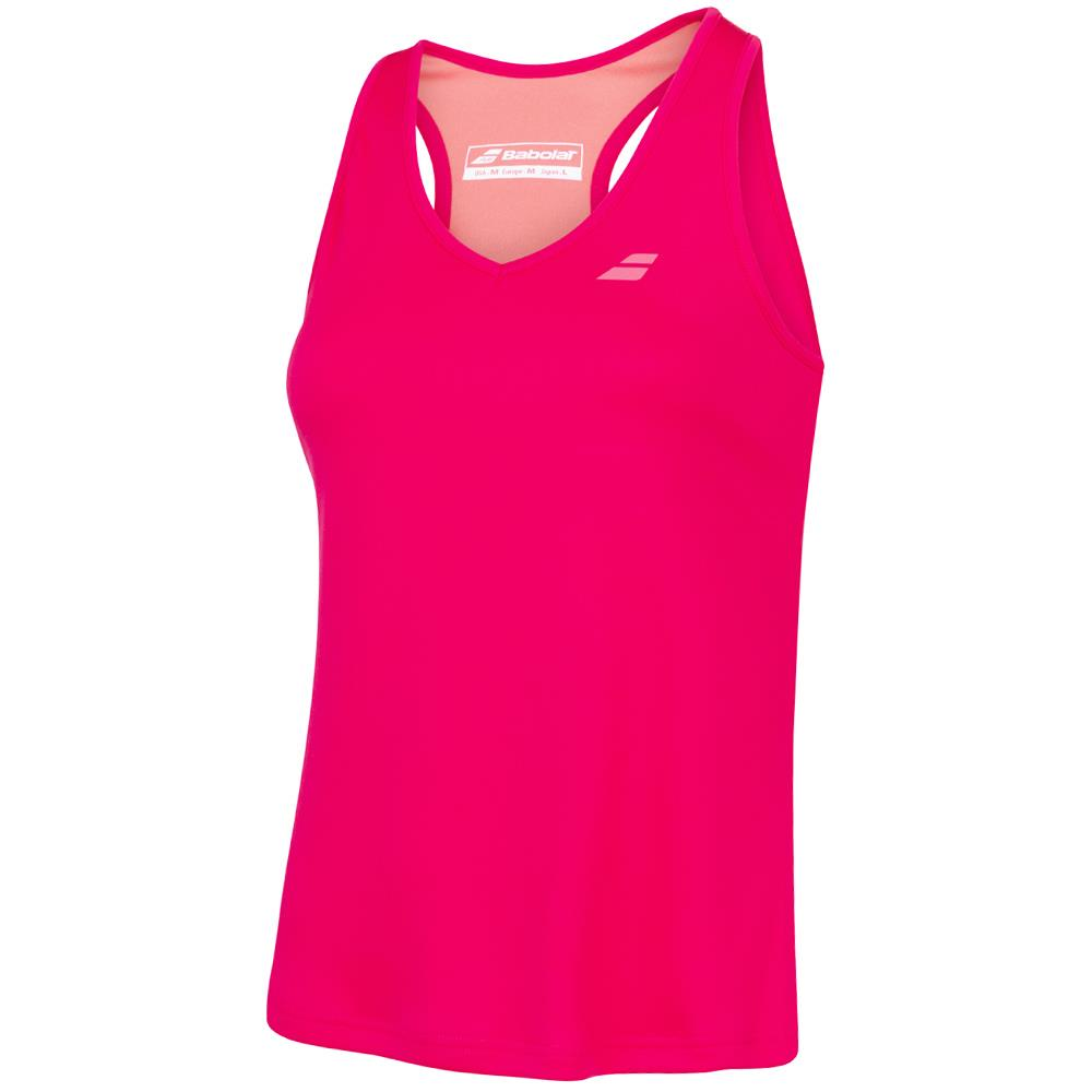 Babolat Girls Play Tank - Red Rose