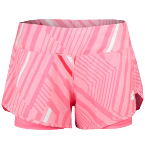 Lotto Women's Top Ten II Print Shorts - Sweet Rose