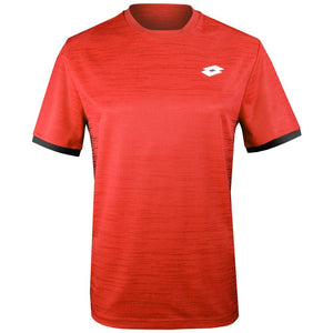 Lotto Boys Top Ten II Tee - Red Poppy