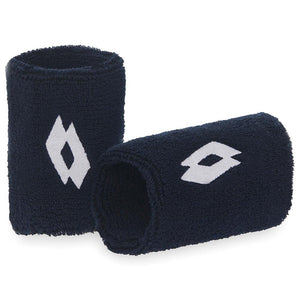 Lotto Wristband Tennis II 2 Pack - Navy