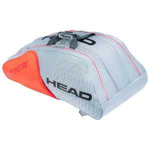 Head Radical 12 Pack Monstercombi - Grey/Orange