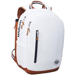 Wilson Roland Garros Tour Backpack - White/Clay