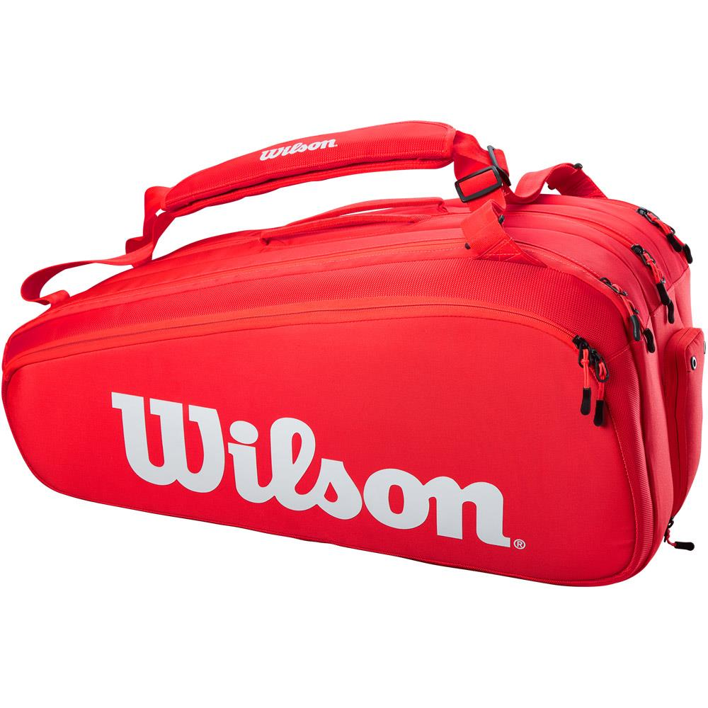 Wilson Super Tour 15 Pack - Red