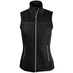 Lija Women's Power Play Wind Vest - Black