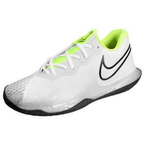 Nike Men's Air Zoom Vapor Cage 4 - White/Volt