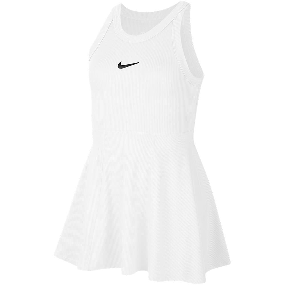 Nike Girls Court Dress - White