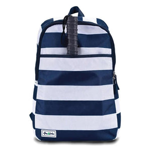 Ame & Lulu Drop Shot Pickleball Backpack - White/Navy