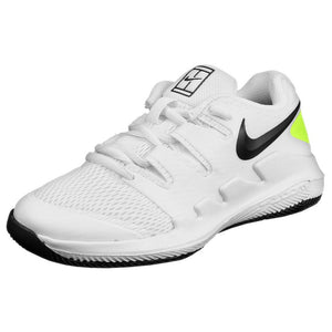 Nike Junior Air Zoom Vapor X - White/Black/Volt