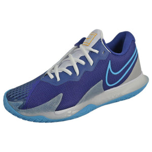 Nike Men's Air Zoom Cage 4 - Blue/White