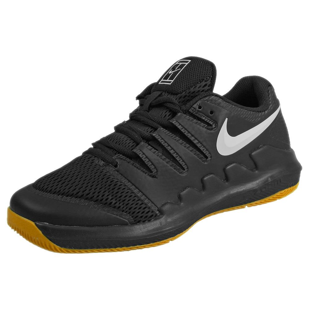 Nike Junior Air Zoom Vapor X - Black/Yellow