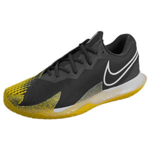 Nike Men's Air Zoom Cage 4 - Black/Yellow