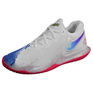Nike Men's Air Zoom Vapor Cage 4 - White/Photo Blue
