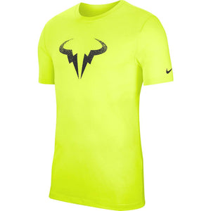 Nike Men's Rafa Tee - Volt/Black