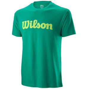 Wilson Men's Script Tee - Deep Green