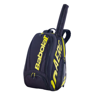 Babolat Pure Aero Backpack - Black/Yellow
