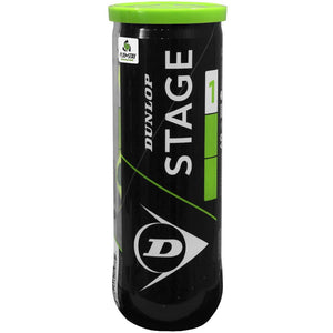 Dunlop Stage 1 Green - Tennis Ball Can